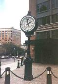 Clocks of New York City - Tribeca Clock